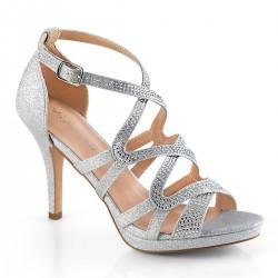 Ezüst női cipő