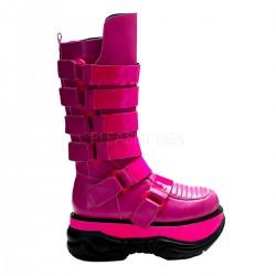 pink platform csizma