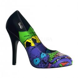 Czombie-03 mintás cipő