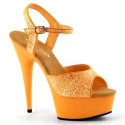 delight-609UVG narancssárga táncos cipő