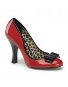 Magassarkú pinup cipők