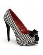 Platform pinup cipők