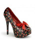 5¾ inch (14,5 cm ) magassarkú platform TEEZE pinup cipők