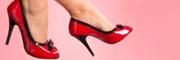 pleaser magassarkú cipők