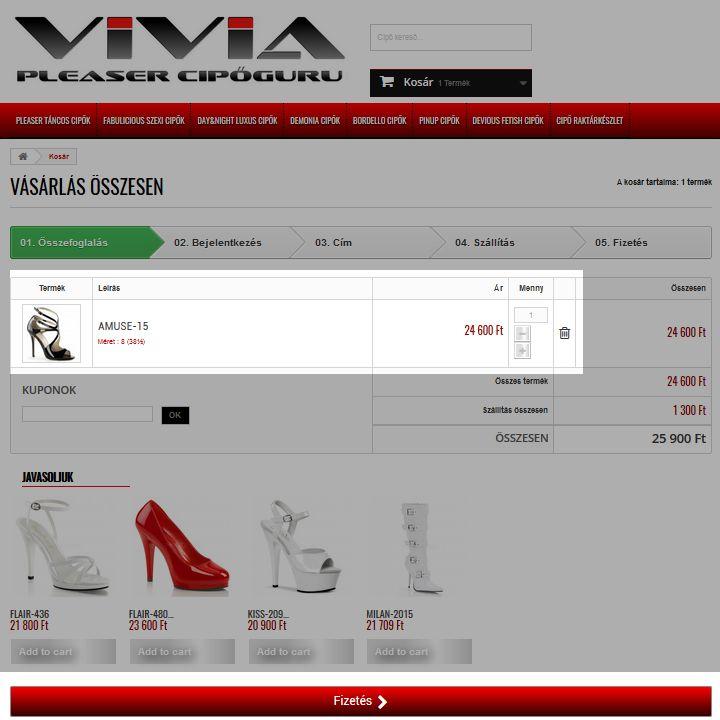 cipő rendelés 5